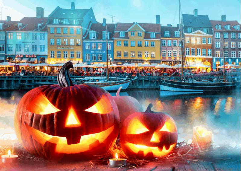 halloween w kopenhadze